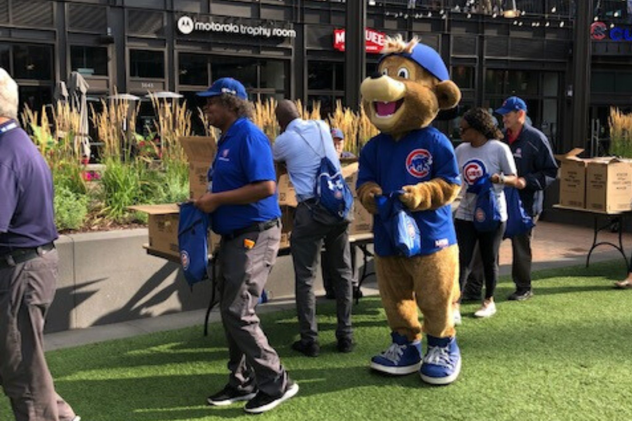 Cubs get involved with Blessings in a Backpack