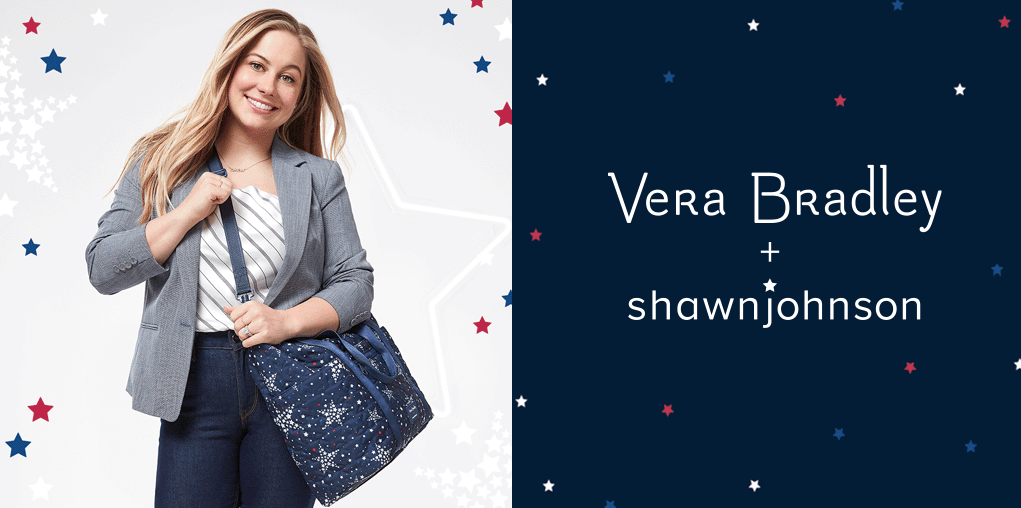 Vera Bradley and Shawn Johnson East Launch Star-Studded Capsule Collection