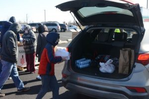 Montgomery drive-thru pop-up food pantry to feed 200 families