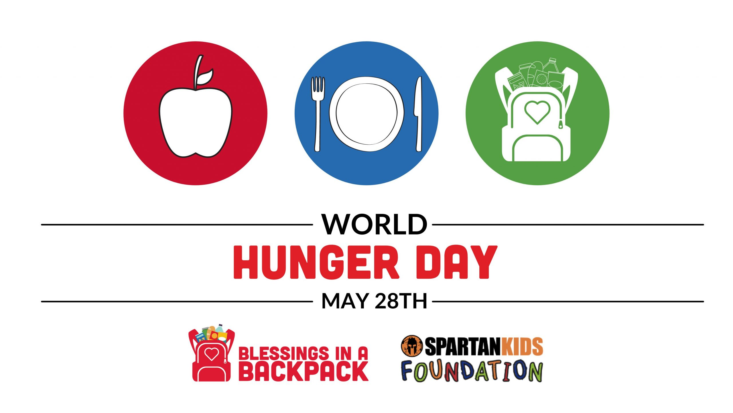 Spartan Kids Foundation Matching $3,000 in Blessings Chicago Donations on World Hunger Day